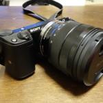自分たち撮りに最強なカメラ、NEX-5とSEL1018