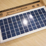 太陽光パネルでスマホを充電したい(測定編)