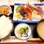 汐留ランチマップ 鮮魚 丸富食堂 新橋店