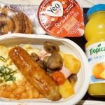 イギリスに行ってきたので機内食をご紹介します